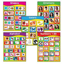 Early Learning Chartlet Set, CD-144350