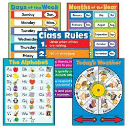 General Classroom Chart Set, CD-144351