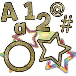 Gold Ez Letters & Cutouts St Sparkle And Shine, CD-145103