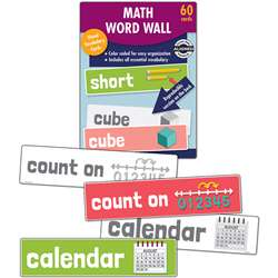 Math Word Wall Gr K, CD-145111
