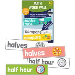 Math Word Wall Gr 1, CD-145112