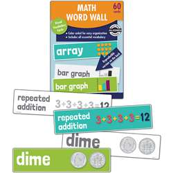 Math Word Wall Gr 2, CD-145113