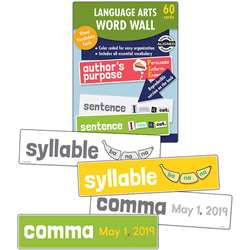 Language Arts Word Wall Gr 1, CD-145115