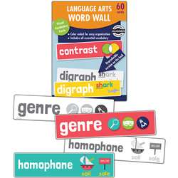 Language Arts Word Wall Gr 2, CD-145116