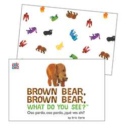 Brwn Bear Brown Bear Learning Cards, CD-145130