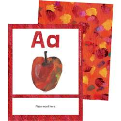 Eric Carle Alphabet Learning Cards, CD-145131
