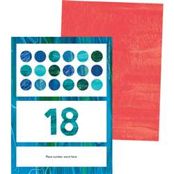 Eric Carle Numbers Learning Cards, CD-145132