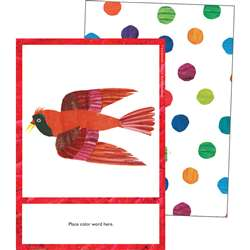 Eric Carle Colors Learning Cards, CD-145133