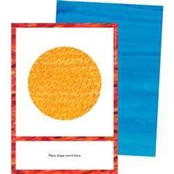 Eric Carle Shapes Learning Cards, CD-145134