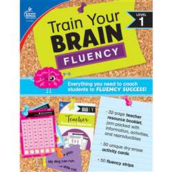 Train Your Brain: Fluency Level 1, CD-149012