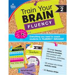 Train Your Brain: Fluency Level 2, CD-149013