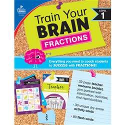 Train Your Brain: Fractions Level 1, CD-149014