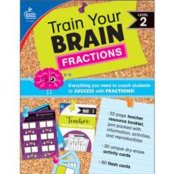 Train Your Brain: Fractions Level 2, CD-149015