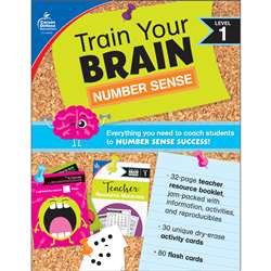 Train Your Brain Number Sense Lvl 1, CD-149016