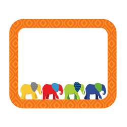 Elephant Name Tags Gr Pk-5, CD-150045