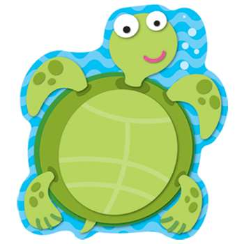 Sea Turtle Notepad By Carson Dellosa