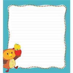 Fall Fun Shape Notepad Gr Pk-8, CD-151089