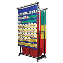 Double Pocket Chart Stand & Accessories By Carson Dellosa