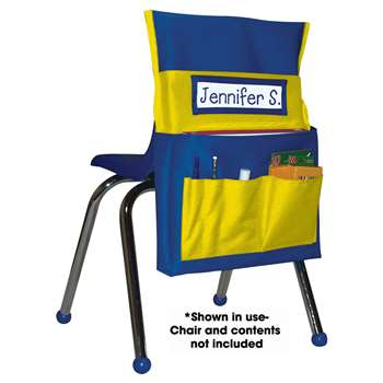 Chairback Buddy Blue/Yellow By Carson Dellosa
