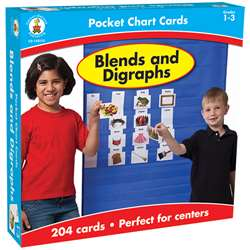 Blends And Digraphs Pocket Charts Gr 1-4 By Carson Dellosa