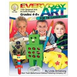 Everyday Art For The Classroom Teacher, CD-1632
