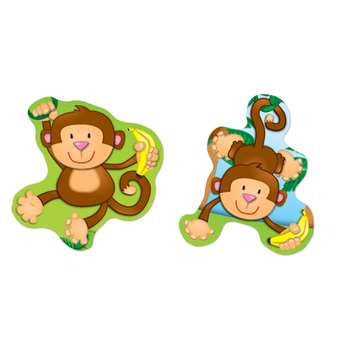 Monkeys Stickers By Carson Dellosa