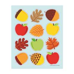 Apples Acorns & Leaves Shape Stickers, CD-168191