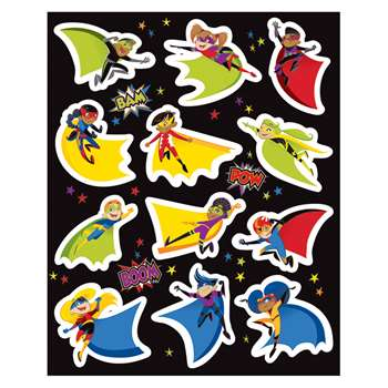 Super Power Shape Stickers, CD-168199