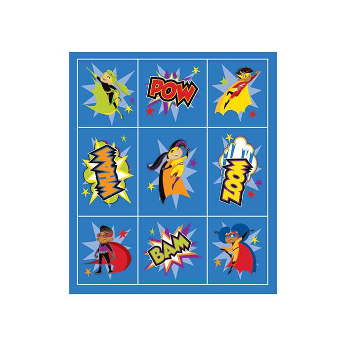 Super Power Prize Pack Stickers, CD-168200