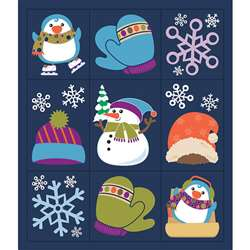 Winter Fun Stickers Grades Pk-5 Prize Pack, CD-168223