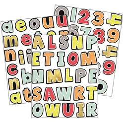 Aim High Letters Numbers Gr Pk-5 Value Stickers, CD-168245