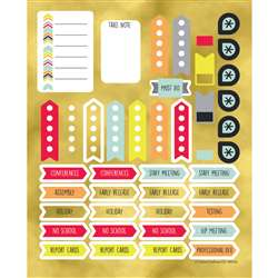 Aim High Planner Accent Stickers, CD-168265