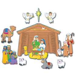 Bb Set Nativity By Carson Dellosa