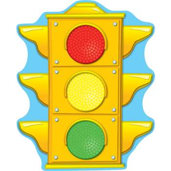 Stoplight Two Sided Decorations By Carson Dellosa