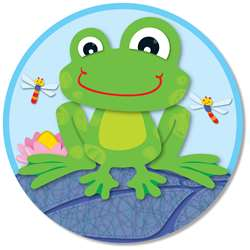 Funky Frog Two Sided Decoration By Carson Dellosa