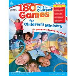 180 Faith-Charged Games For Childrens Ministry Elementary By Carson Dellosa