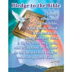 Pledge To The Bible By Carson Dellosa