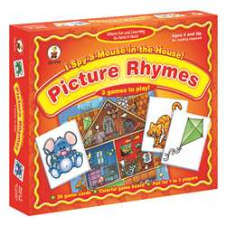I Spy A Mouse In The House, Picture Rhymes, Ages 4+ By Carson Dellosa