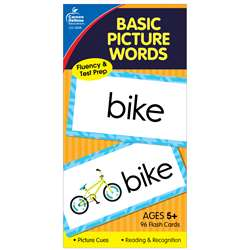 Flash Cards Basic Picture Words 6 X 3 By Carson Dellosa