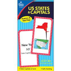 Flash Cards Us States & Capitals By Carson Dellosa