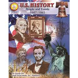 U.S. History People & Events 1607-1865 Grade 6+ By Carson Dellosa