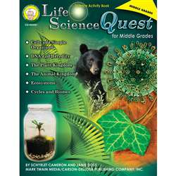 Life Science Quest For Middle By Carson Dellosa