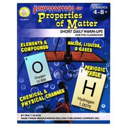 Jumpstarters For Properties Of Matter Book, CD-404107