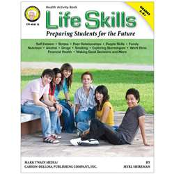 Life Skills Preparing Students For The Future Revised Book Gr 5-8 By Carson Dellosa