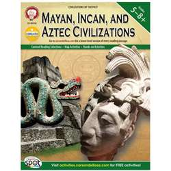 Mayan Incan And Aztec Civilizations By Carson Dellosa