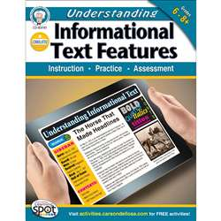 Understanding Informational Text Features Gr 6-8 By Carson Dellosa