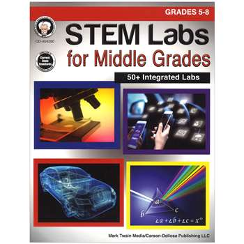Stem Labs For Middle Grades Gr 6-8, CD-404250