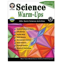 Science Warm Ups Book Gr 5-8, CD-404259