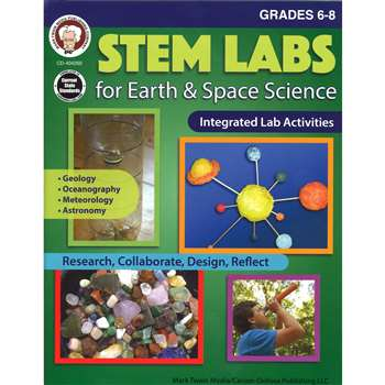 Stem Labs Earth Space Sci Bk Gr 6-8, CD-404260