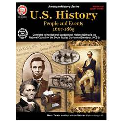 Us History Middle Upper Grades Book, CD-404264